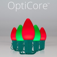 C7 Red & Green Opticore LEDs