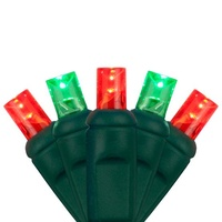 Red & Green LED Mini Lights