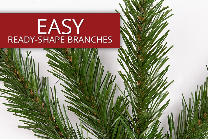 Olympia Pine Commercial Artificial Christmas Trees