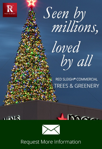 Commercial Christmas Decorations.Commercial Christmas Trees