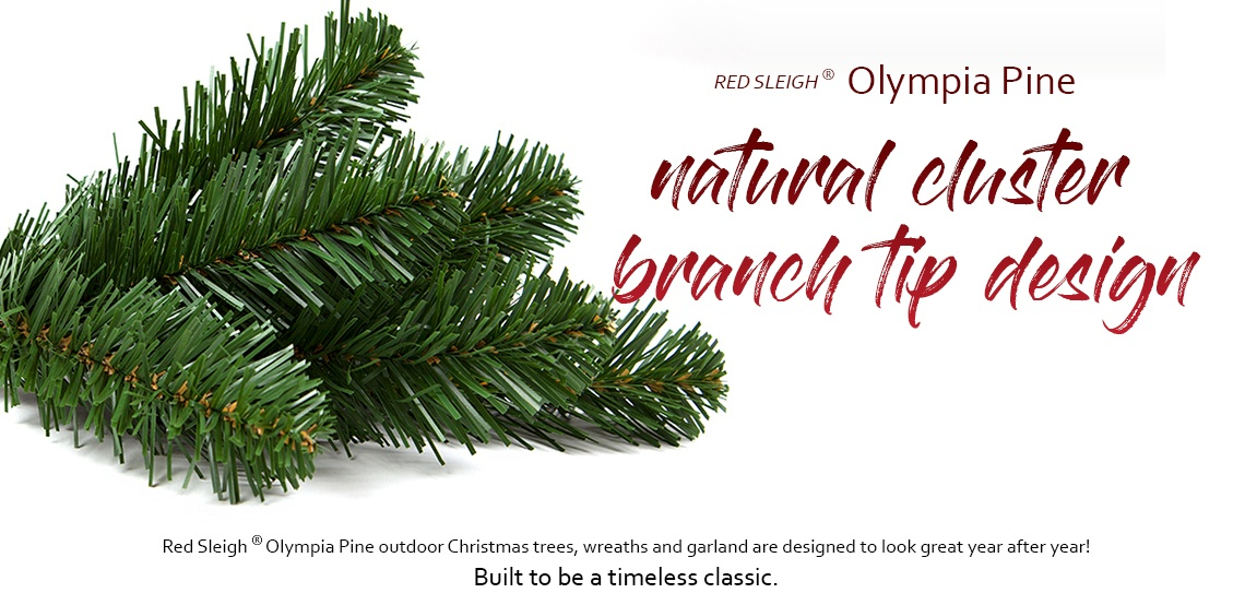 Olympia Pine Prelit Commercial Christmas Trees