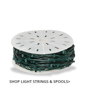 Christmas Light Strings and Spools