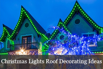 Christmas Roof Lights