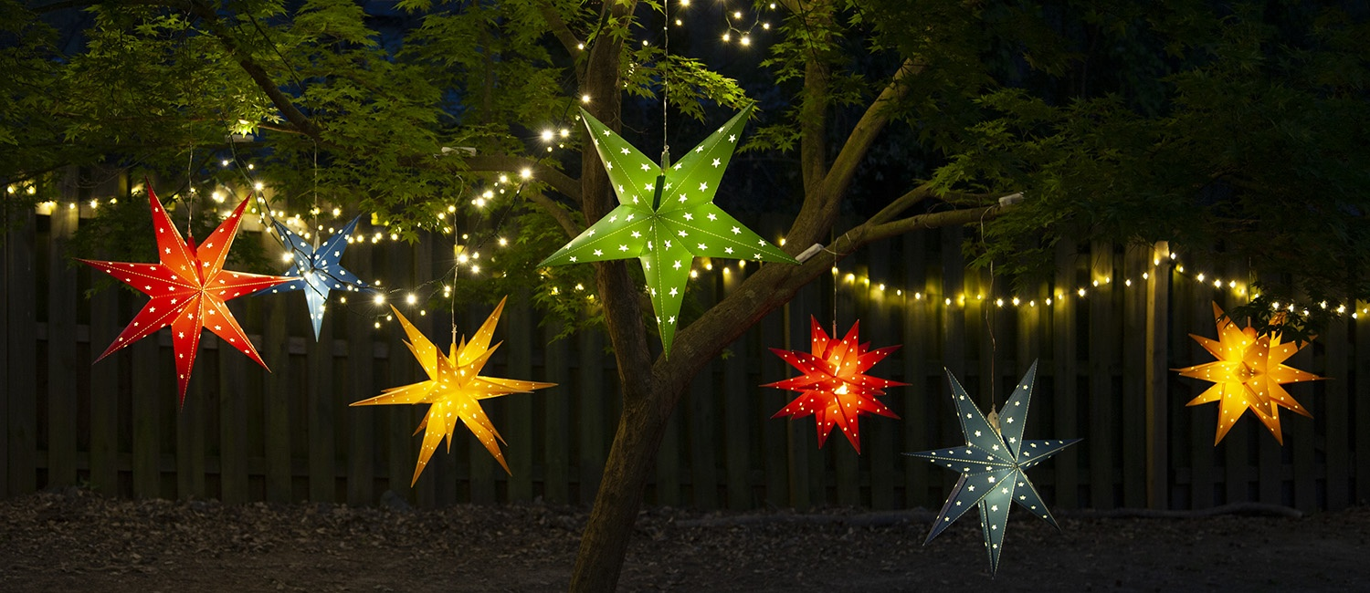 Decorating With Star Lights