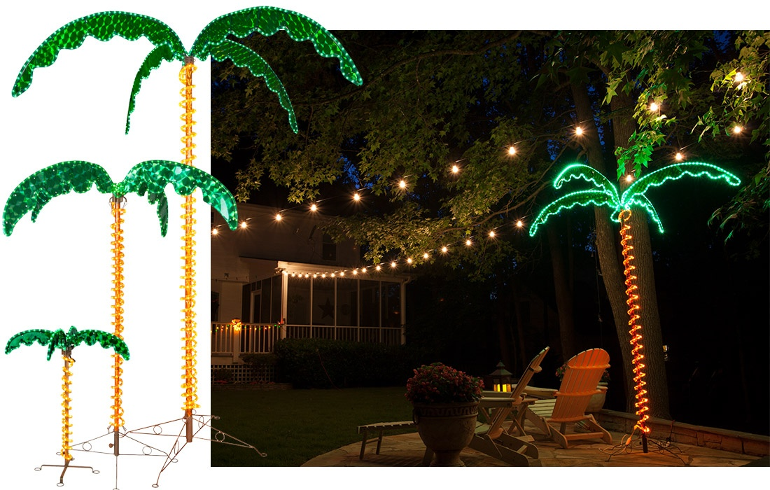 LED Rope Light Palm Tree