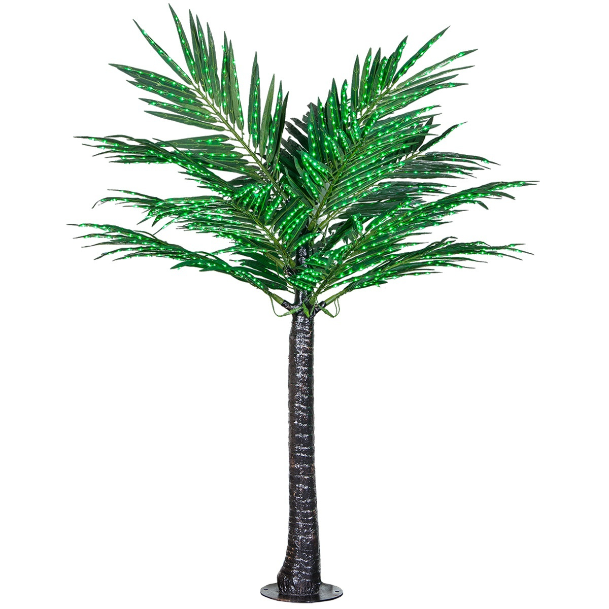 Commercial LED Lighted Palm Tree