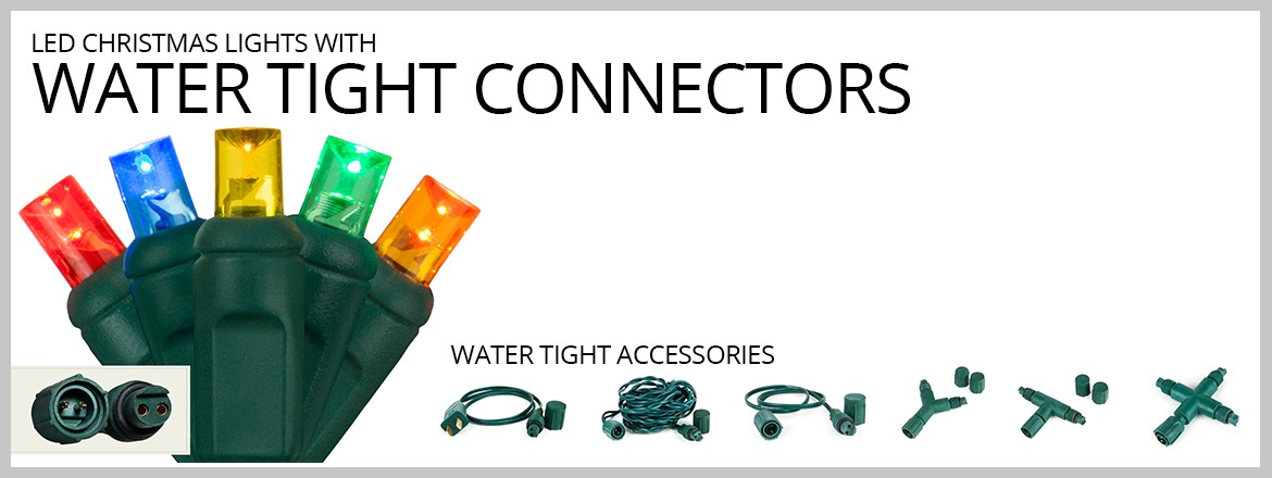 Water Tight Commercial LED String Lights