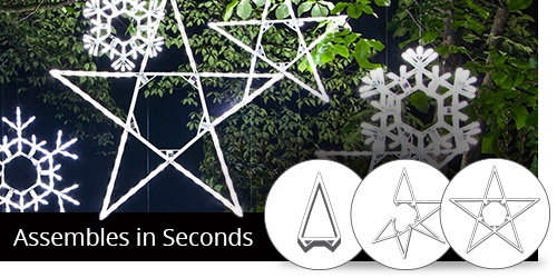 Folding Snowflakes & Star Decorations