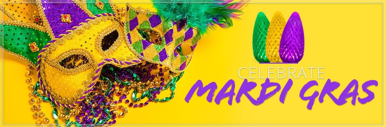 Mardi Gras Lights & Decorations