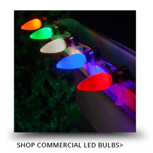 Commercial LED Christmas Light Bulbs