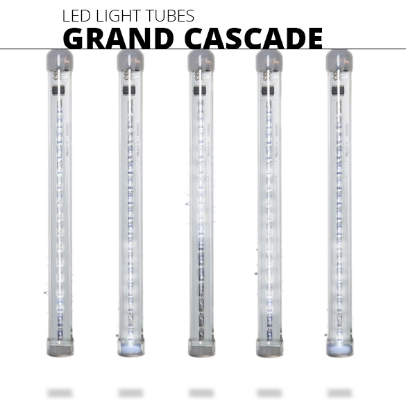 Grand Cascade Christmas Light Tubes