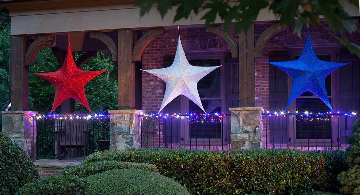 Patriotic Star Lights