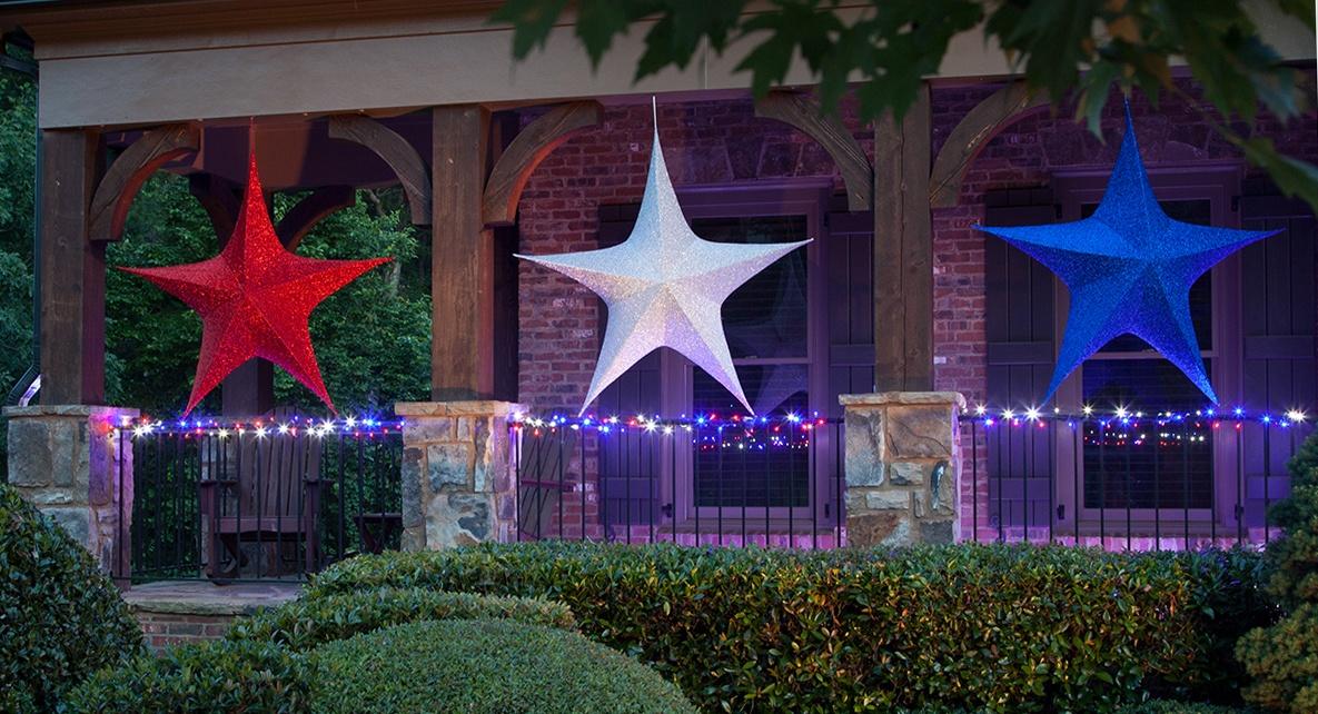 Patriotic Star Lights