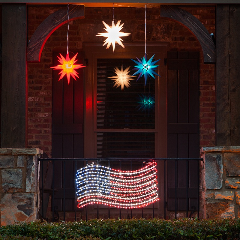 Patriotic Porch Decorations