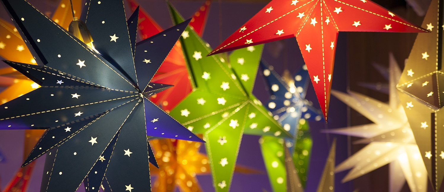 Christmas Star Lights Outdoor Decorations