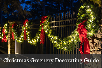 How to Decorate with Christmas Greenery
