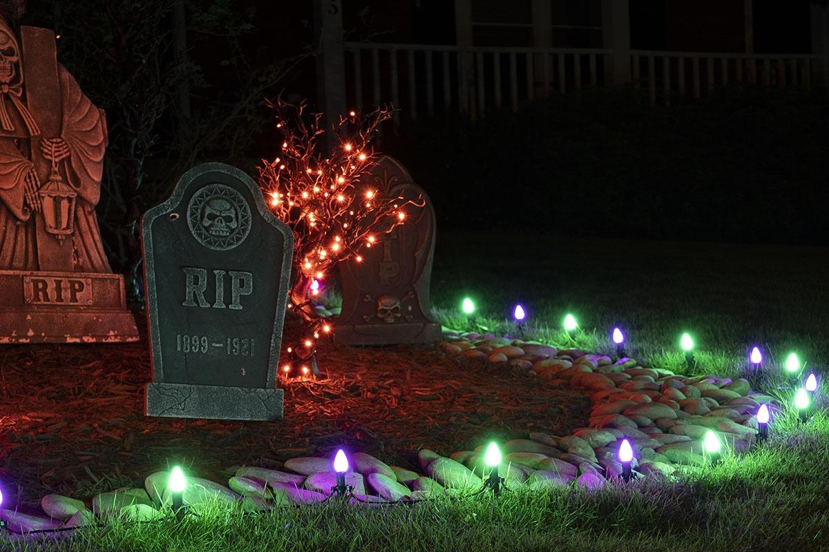 Halloween Walkway Lights
