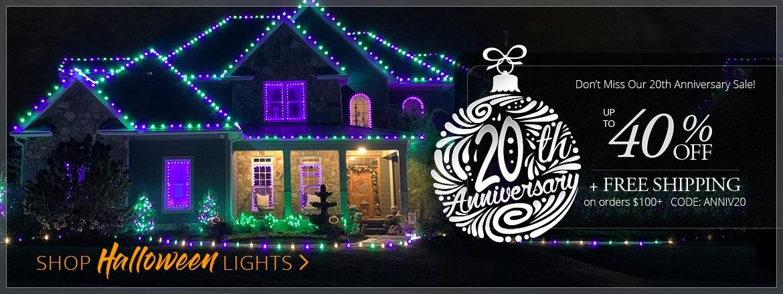 Halloween Light Sale!