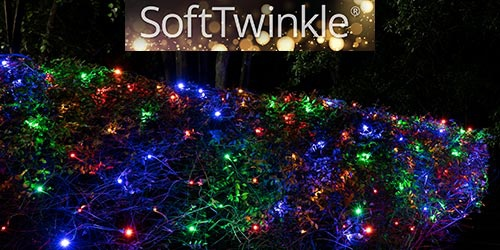 SoftTwinkle Net Lights