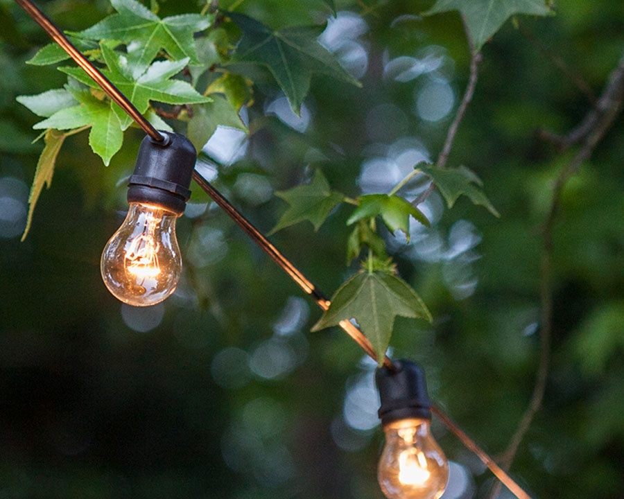 LED Bulbs are Cool To The Touch & Safer For Outdoor Use