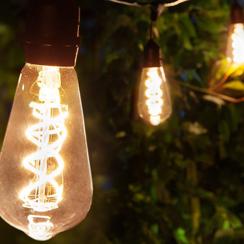 Removable Patio Light Bulb