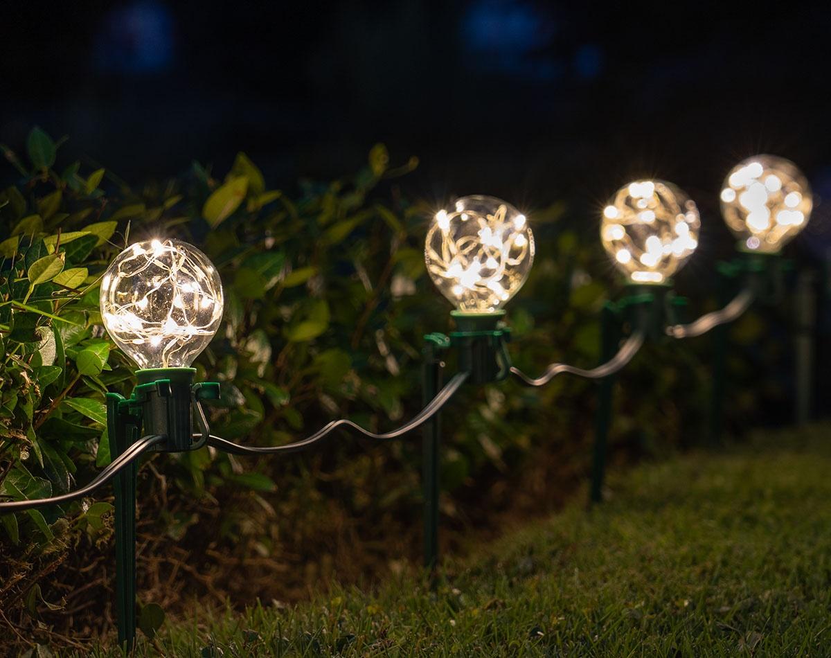 Fairy Globe Pathway Garden Lights