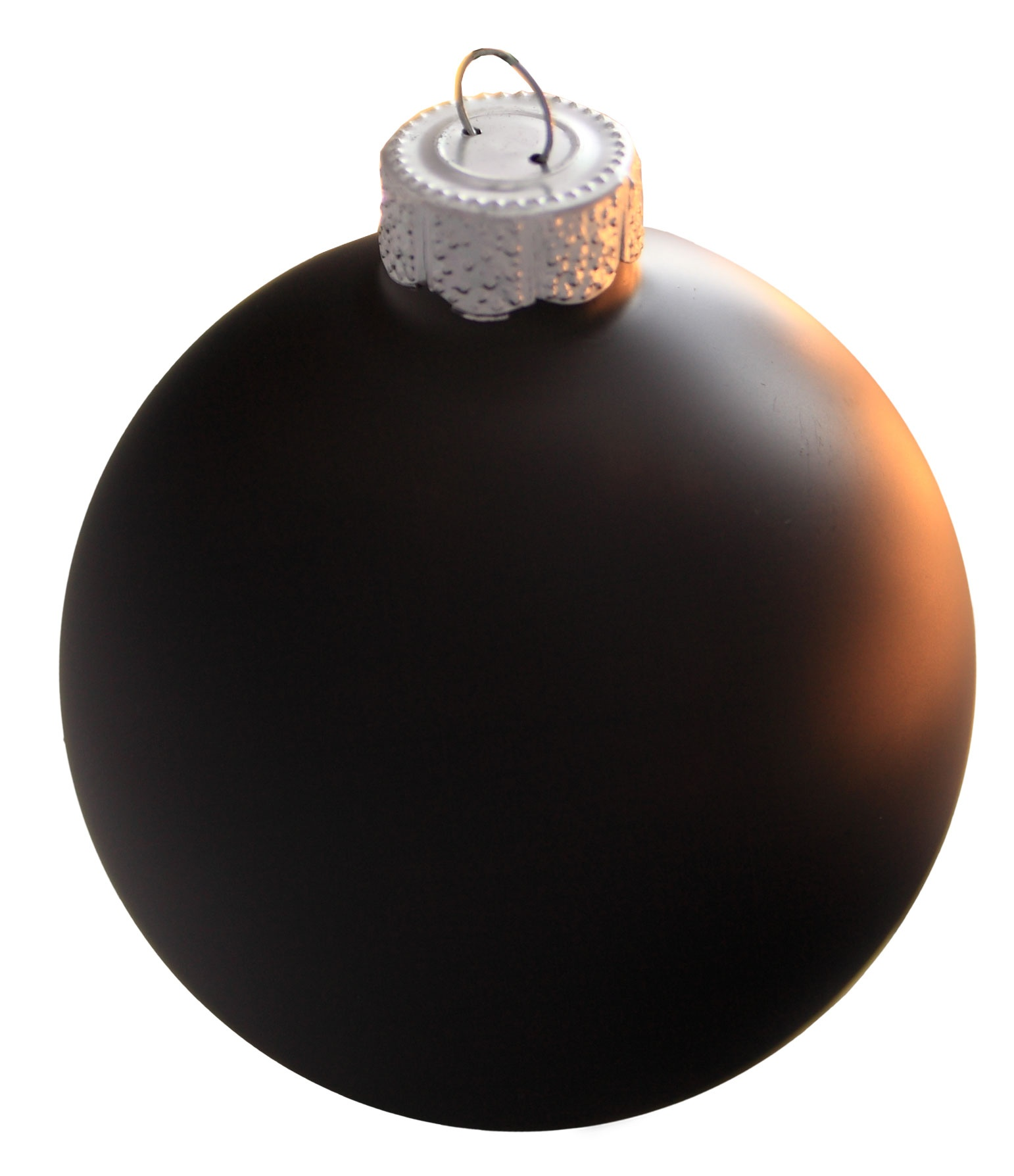 black glass ball christmas ornament - Christmas Ball Decorations