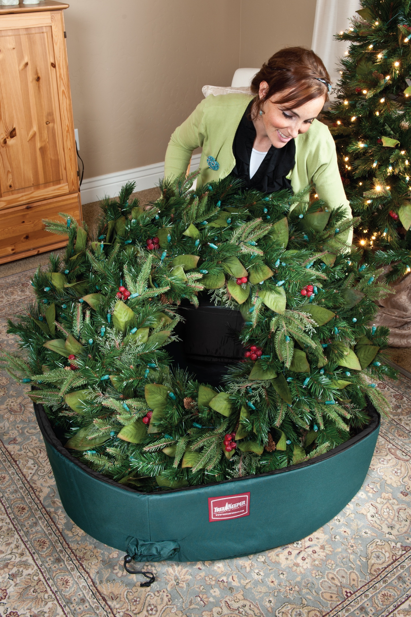 Christmas Tree Storage Bags 48 Quot Wreath Storage Bag