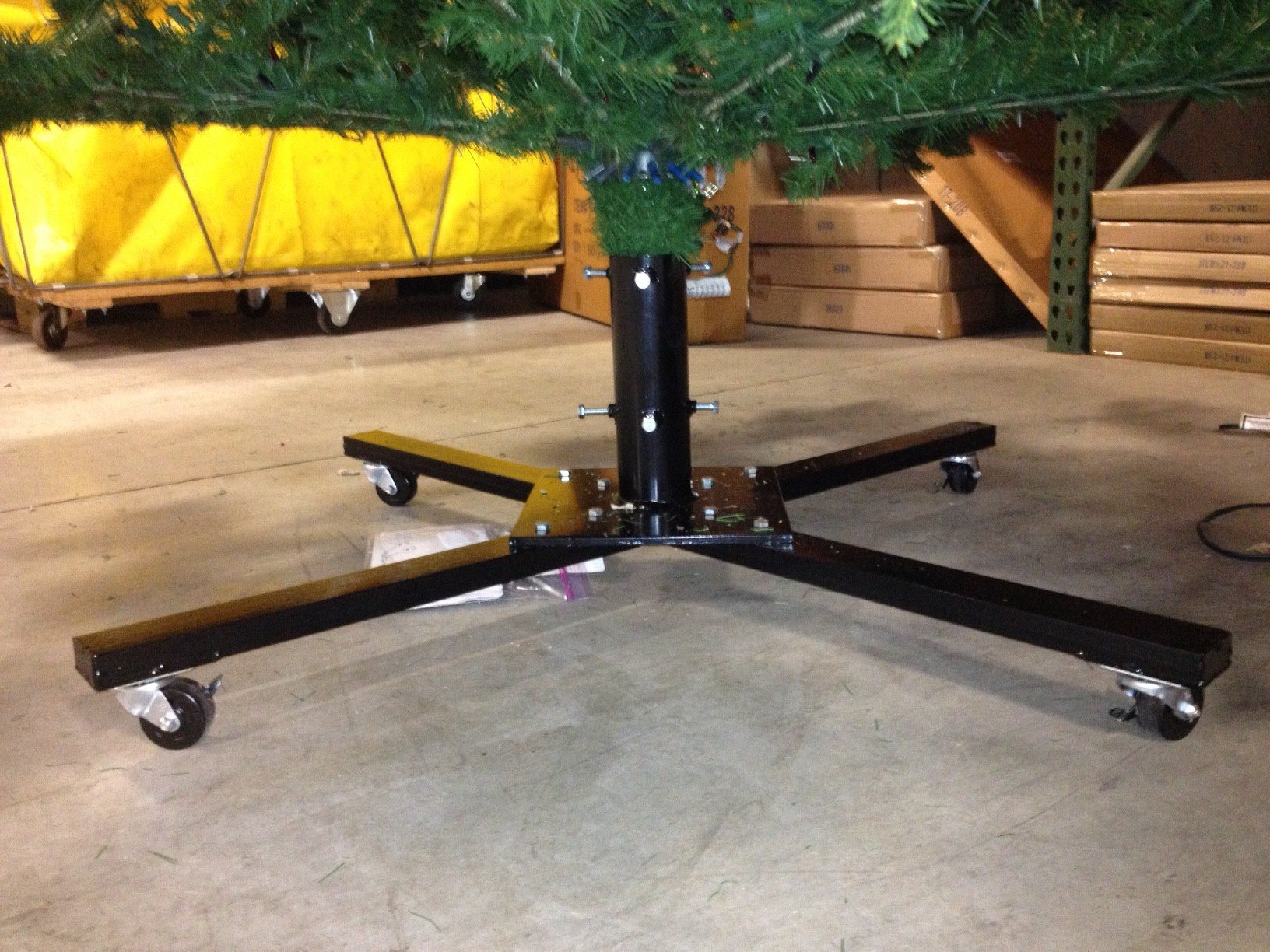 Christmas Tree Stands 42 Quot Heavy Duty Rolling Tree Stand