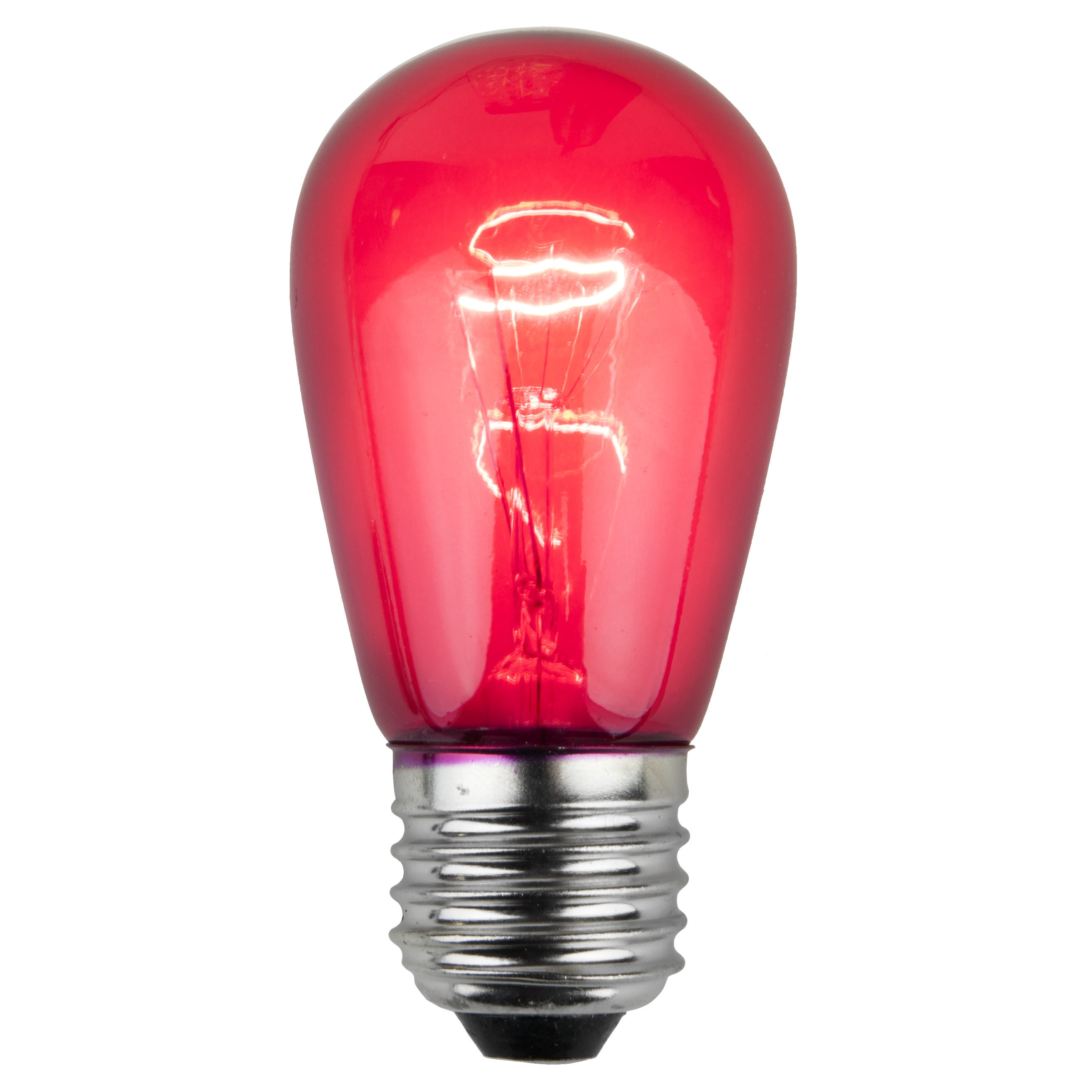 S14 Transparent Pink, 11 Watt