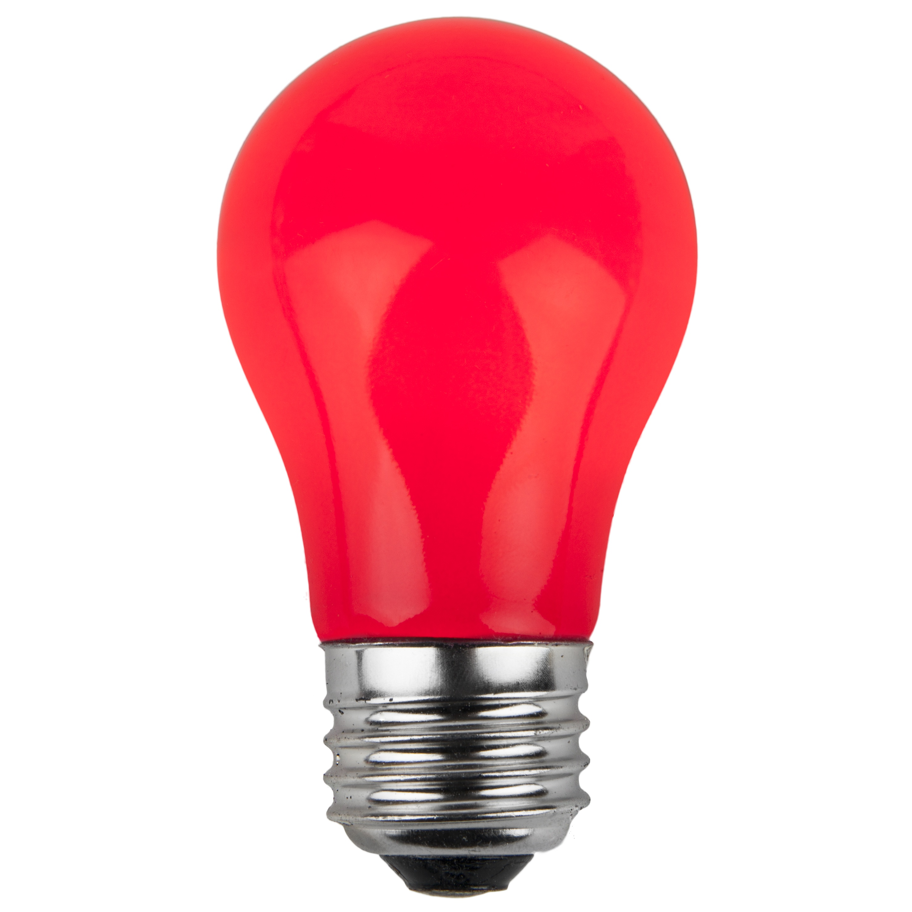Led Shop Lights >> E26 Party and Sign Bulbs - A15 Opaque Red, 15 Watt ...