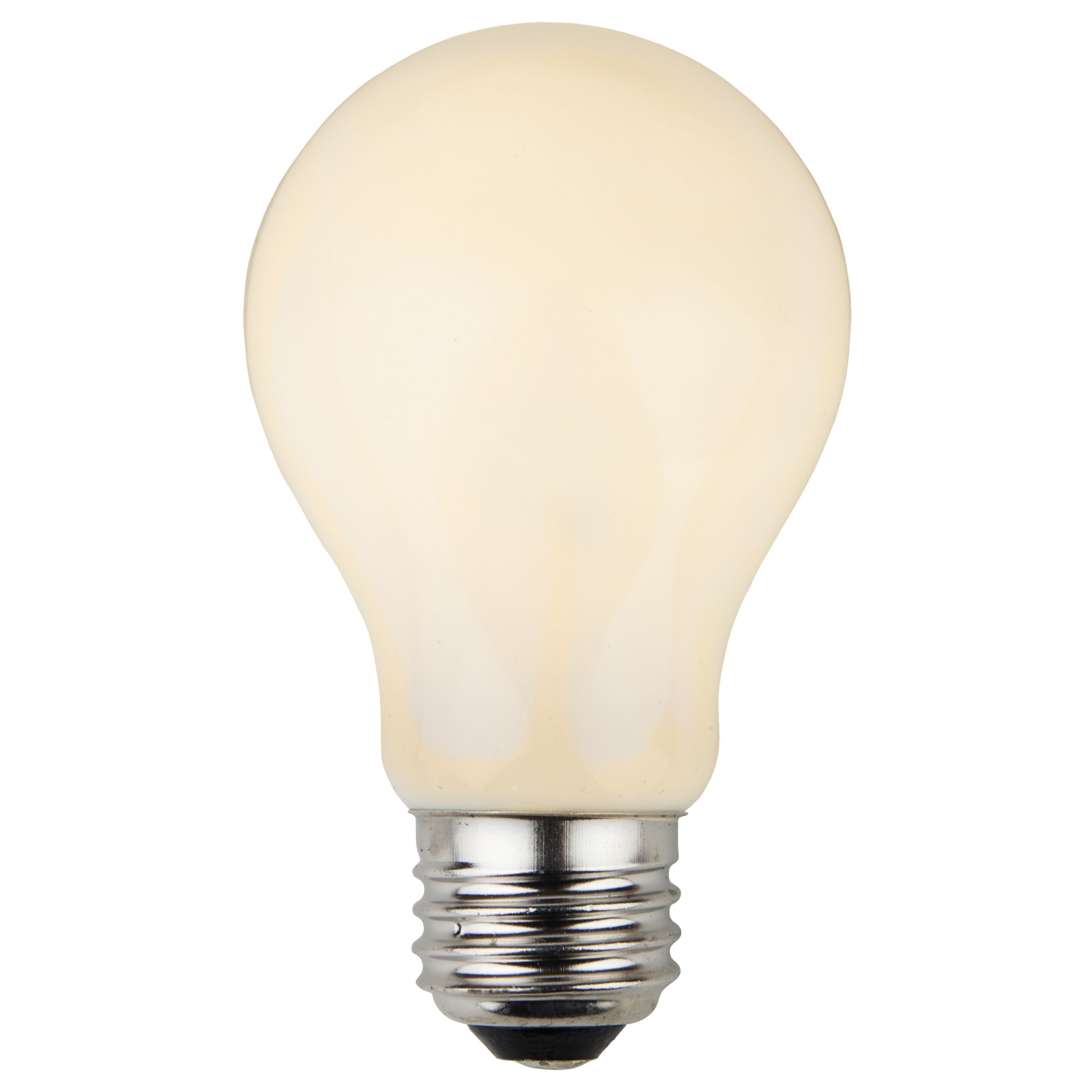 e26 party and sign bulbs a19 opaque white 25 watt replacement bulbs. Black Bedroom Furniture Sets. Home Design Ideas