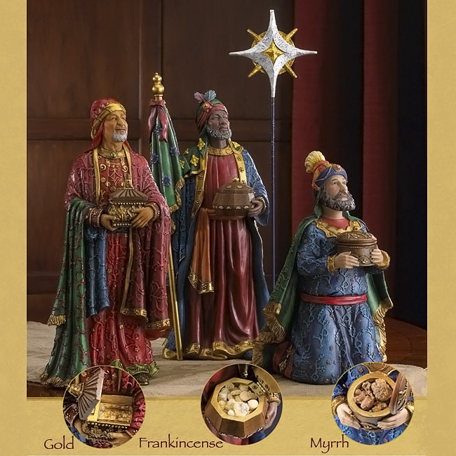 Collectibles Nativity Sets Amp Gifts Deluxe Three Kings