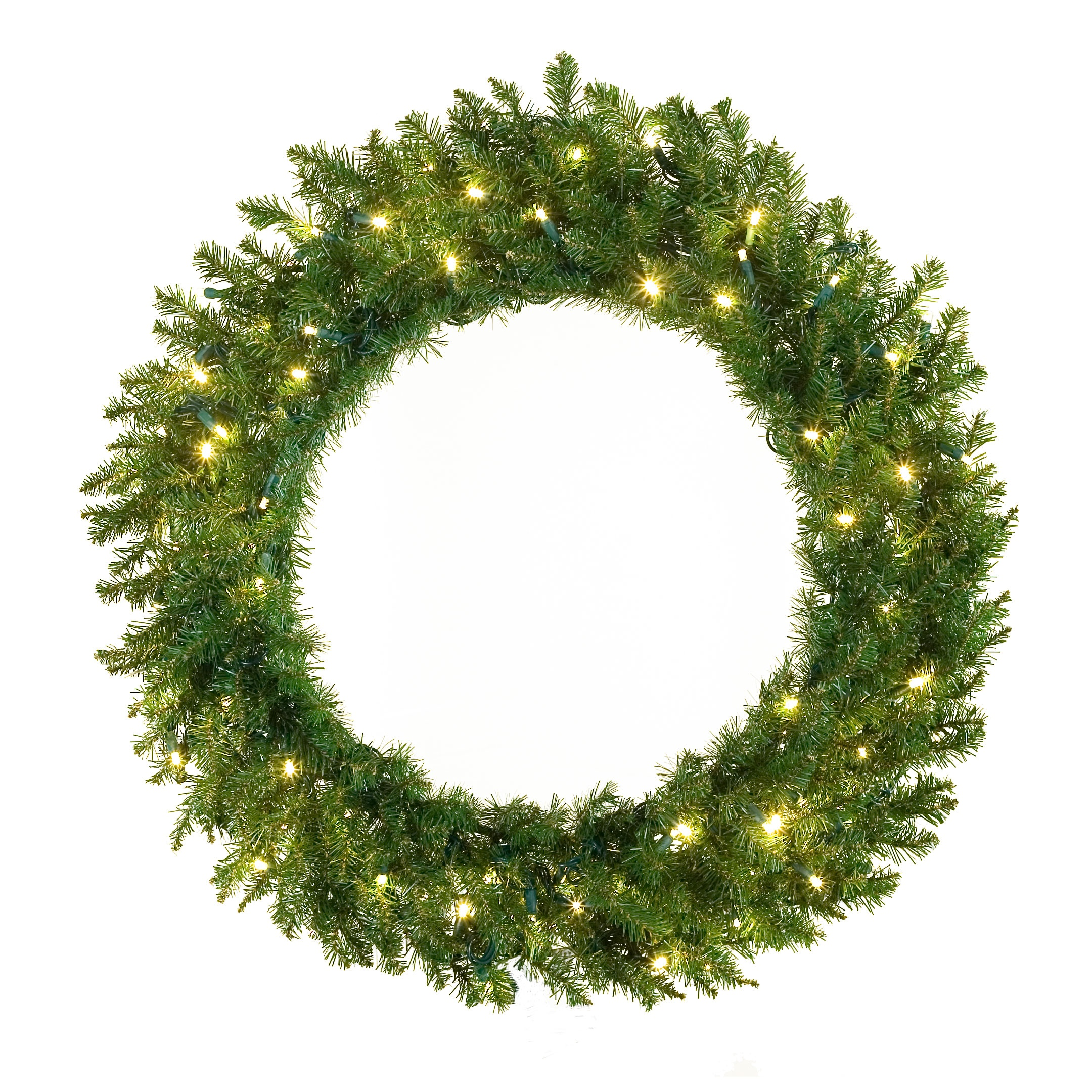 Artificial christmas wreaths norway spruce prelit led for Led wreath outdoor