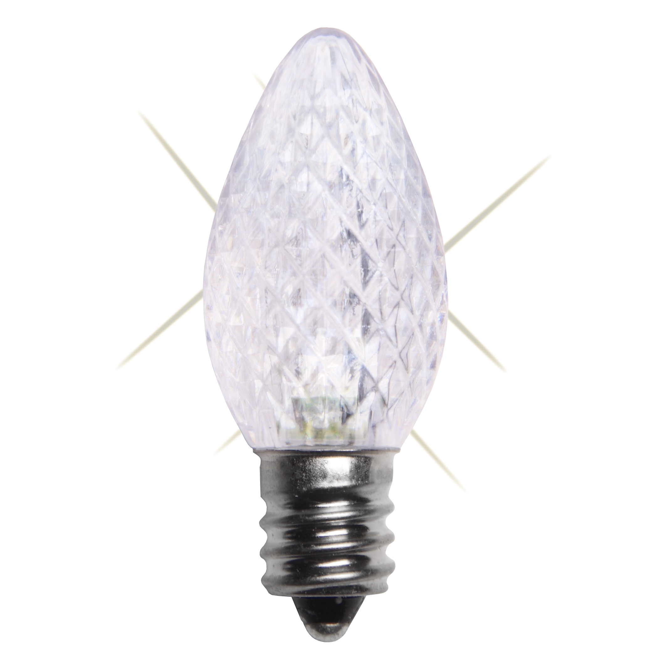 C7 Led Bulb >> C7 Twinkle Cool White Led Christmas Light Bulbs