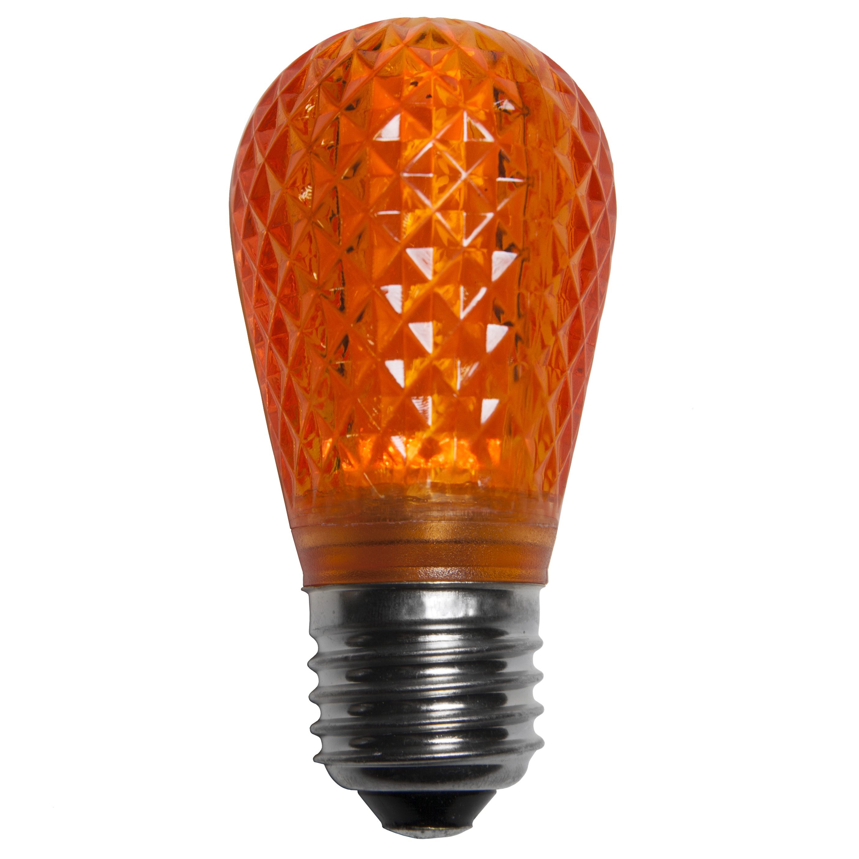 S14 T50 Amber Orange Led Replacement Bulbs