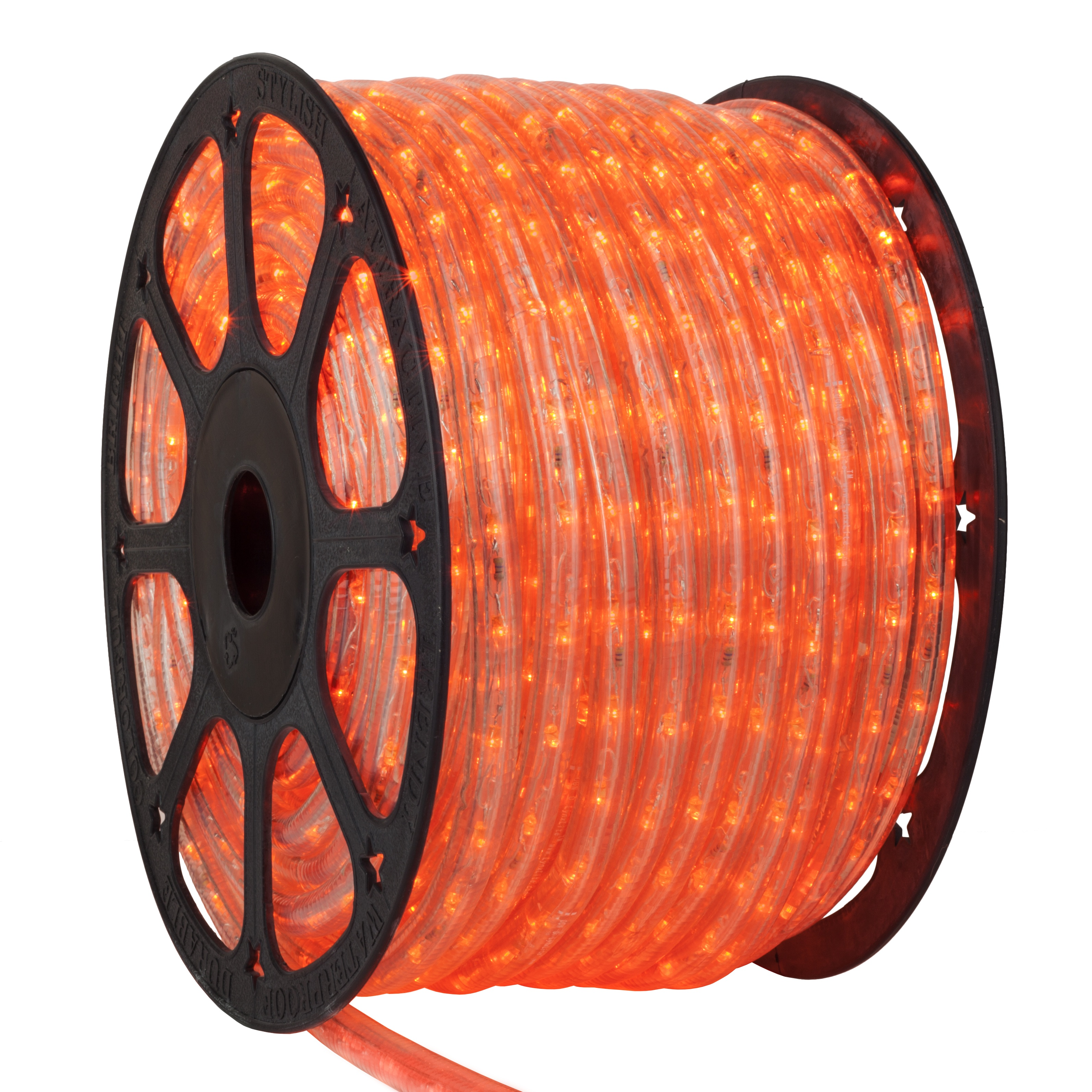 LED Rope Lights   150  Orange LED Rope Light Commercial Spool  120 Volt. LED Rope Lights   150  Orange LED Rope Light Commercial Spool  120