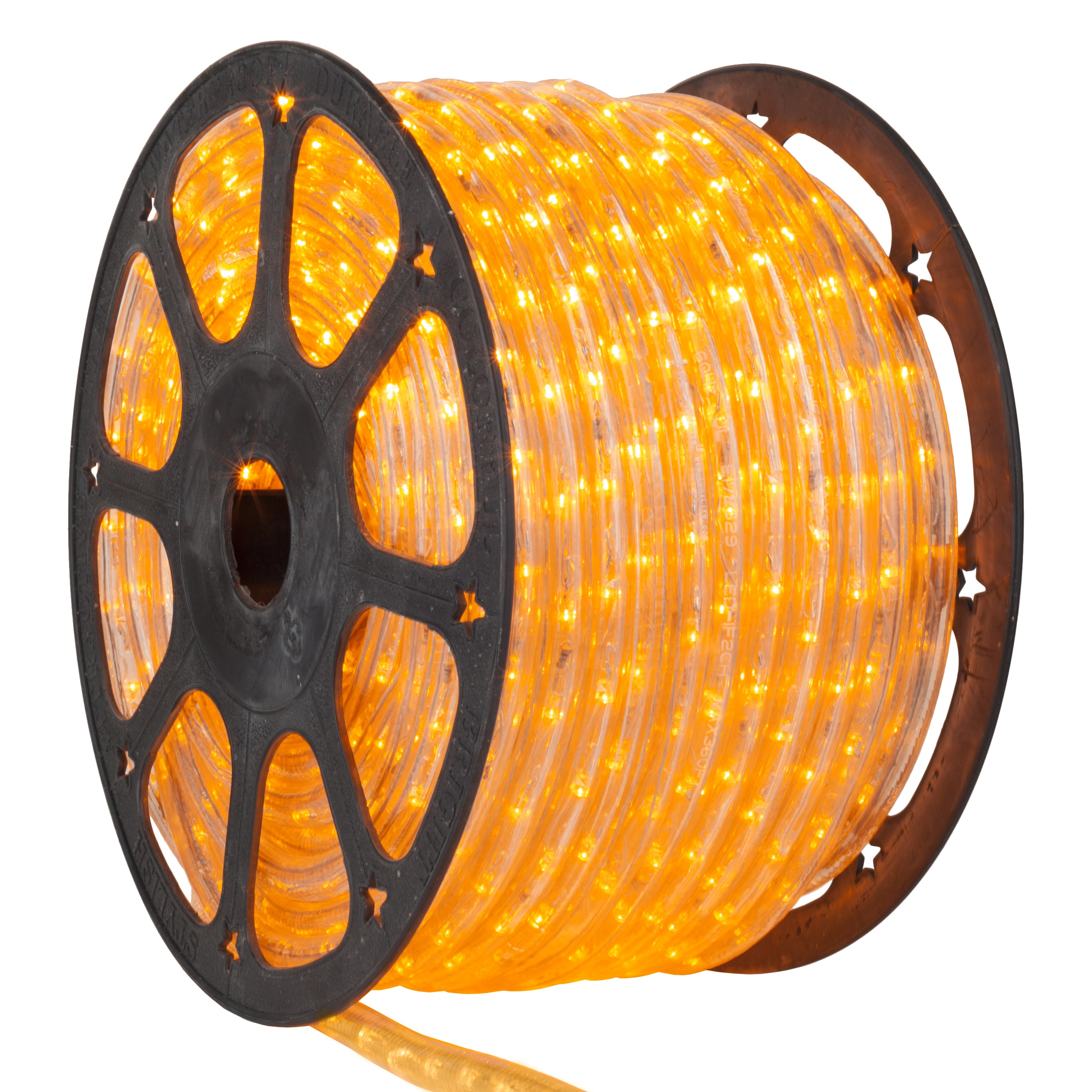 Led Rope Lights 153 Yellow Led Rope Light Commercial