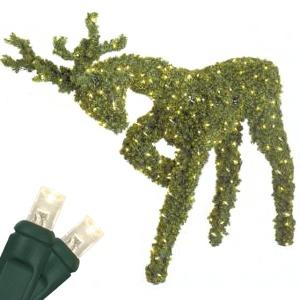 Outdoor Christmas Decorations 4 8 Head Down Reindeer