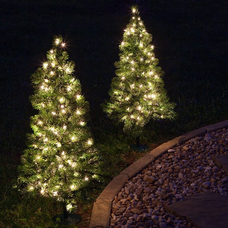 Outdoor Christmas Tree