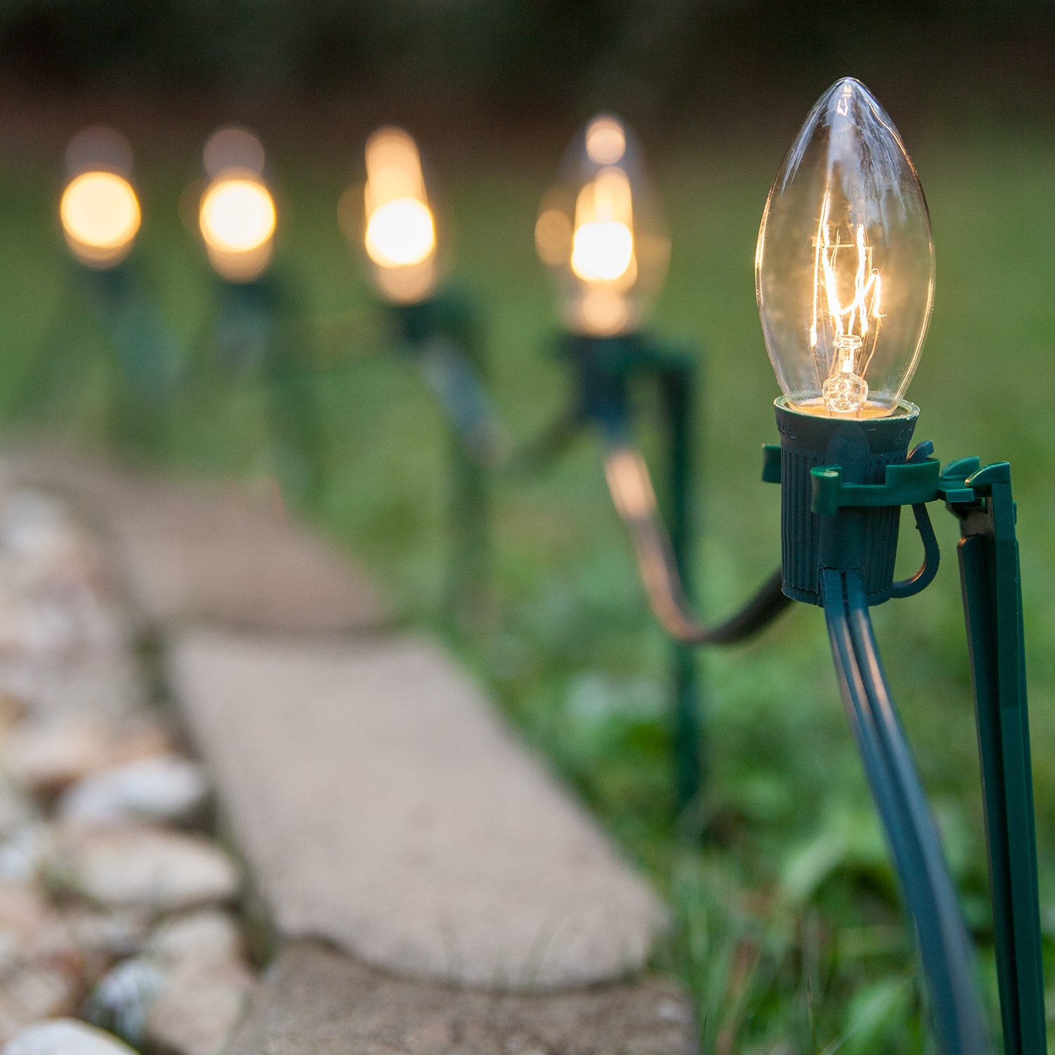 Christmas Solar Pathway Lights