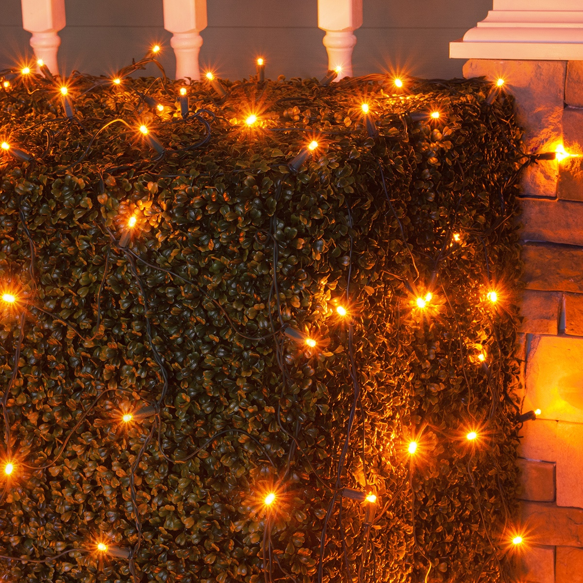 Led Net Lights 5mm 4 X 6 Led Net Lights 100 Amber