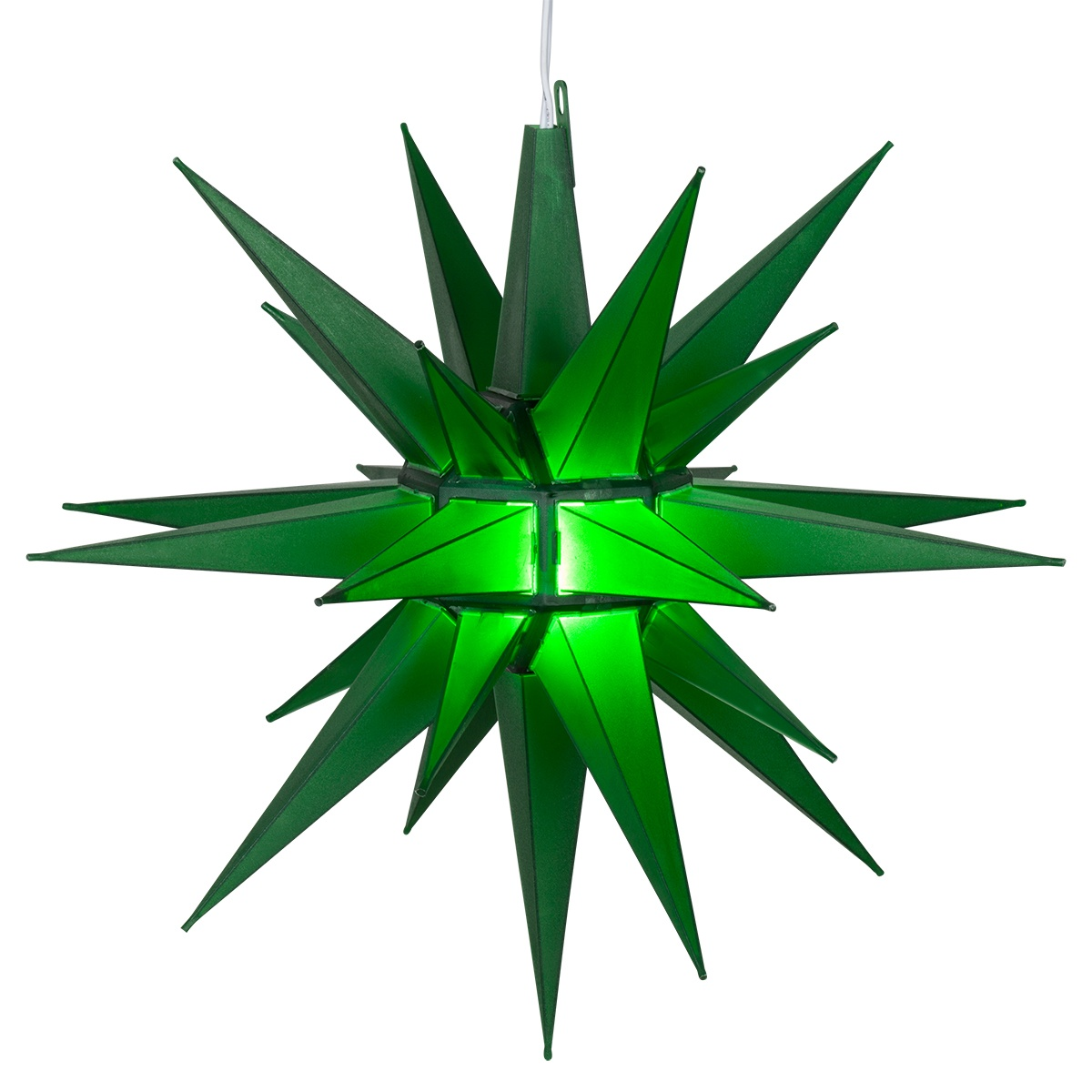 Moravian stars quot green led star