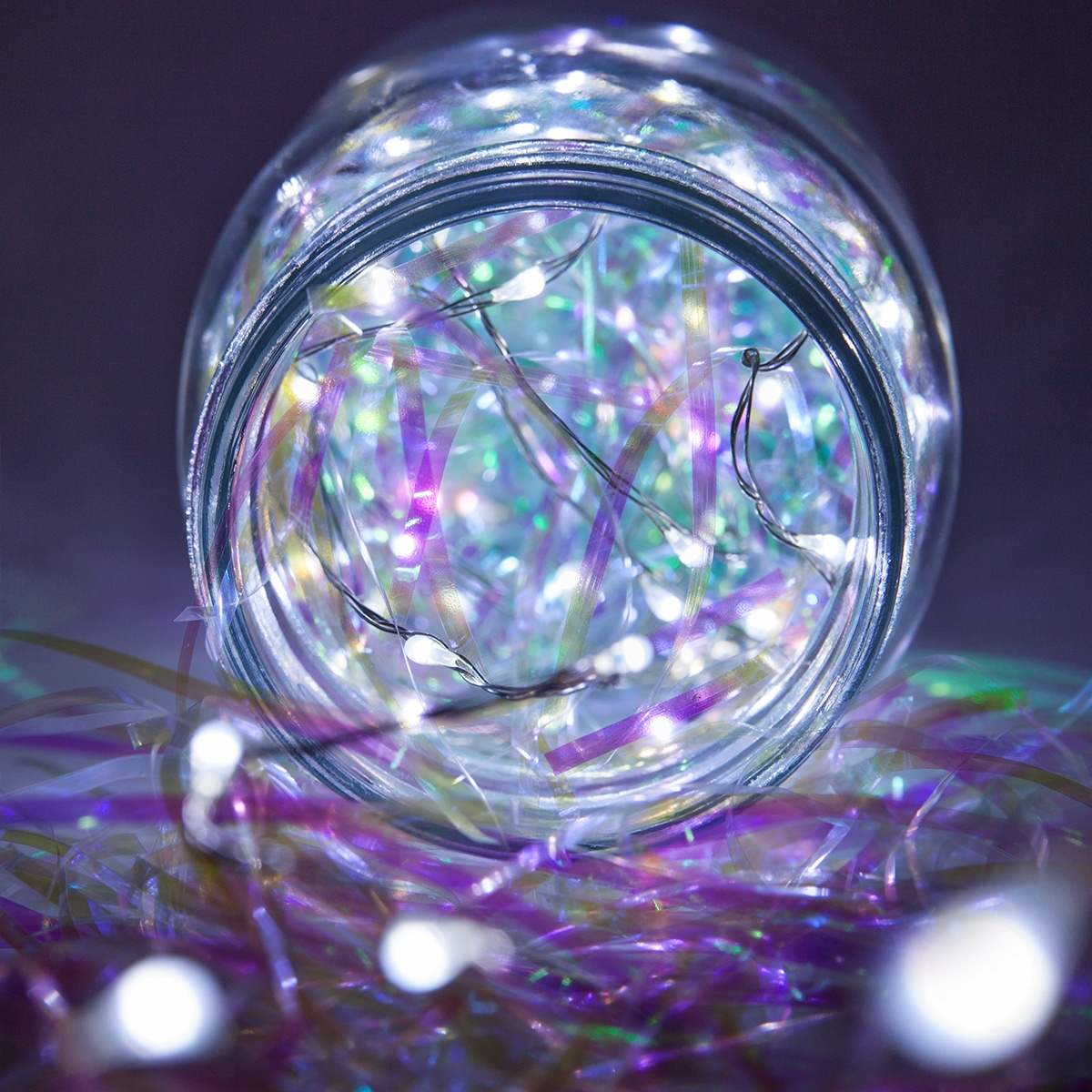Novelty Lights 10 Cool White Led Fairy Light String