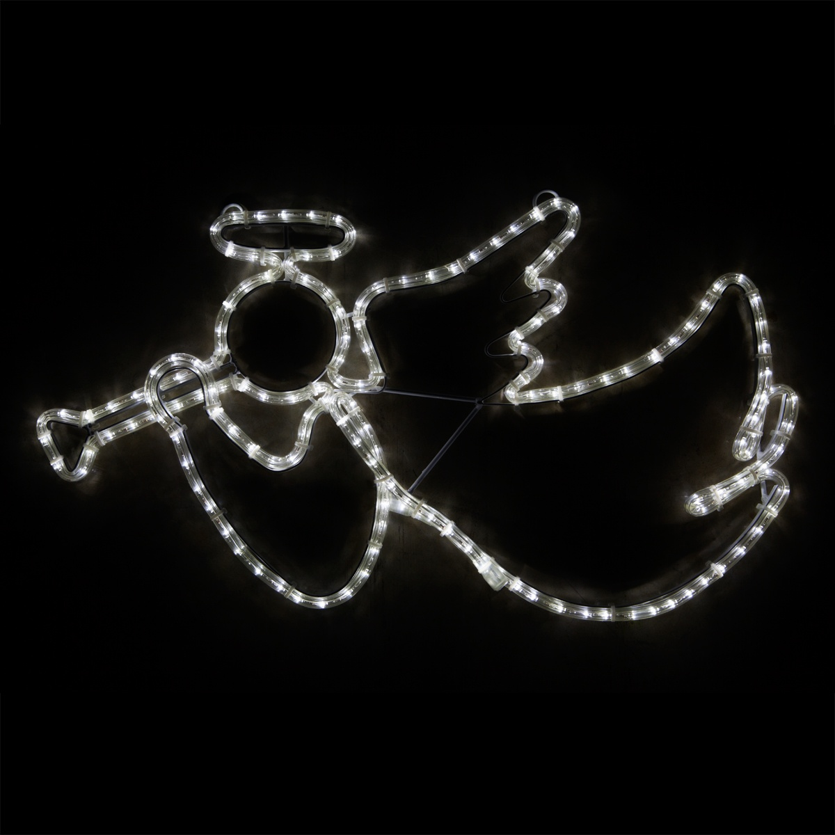 Outdoor Decoration 28 Quot Led Angel With Trumpet Cool