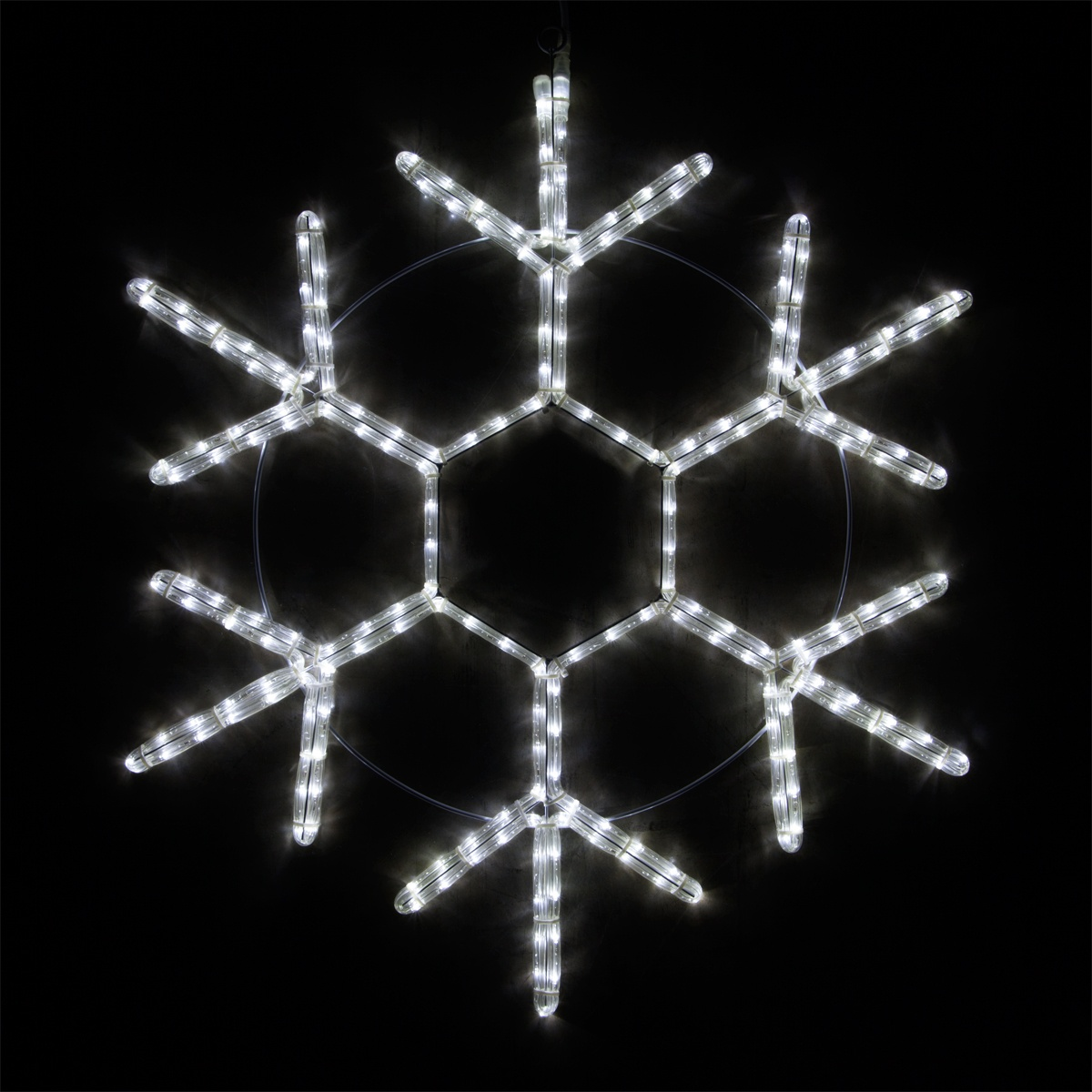 Snowflakes Amp Stars 24 Quot Led 18 Point Snowflake Cool