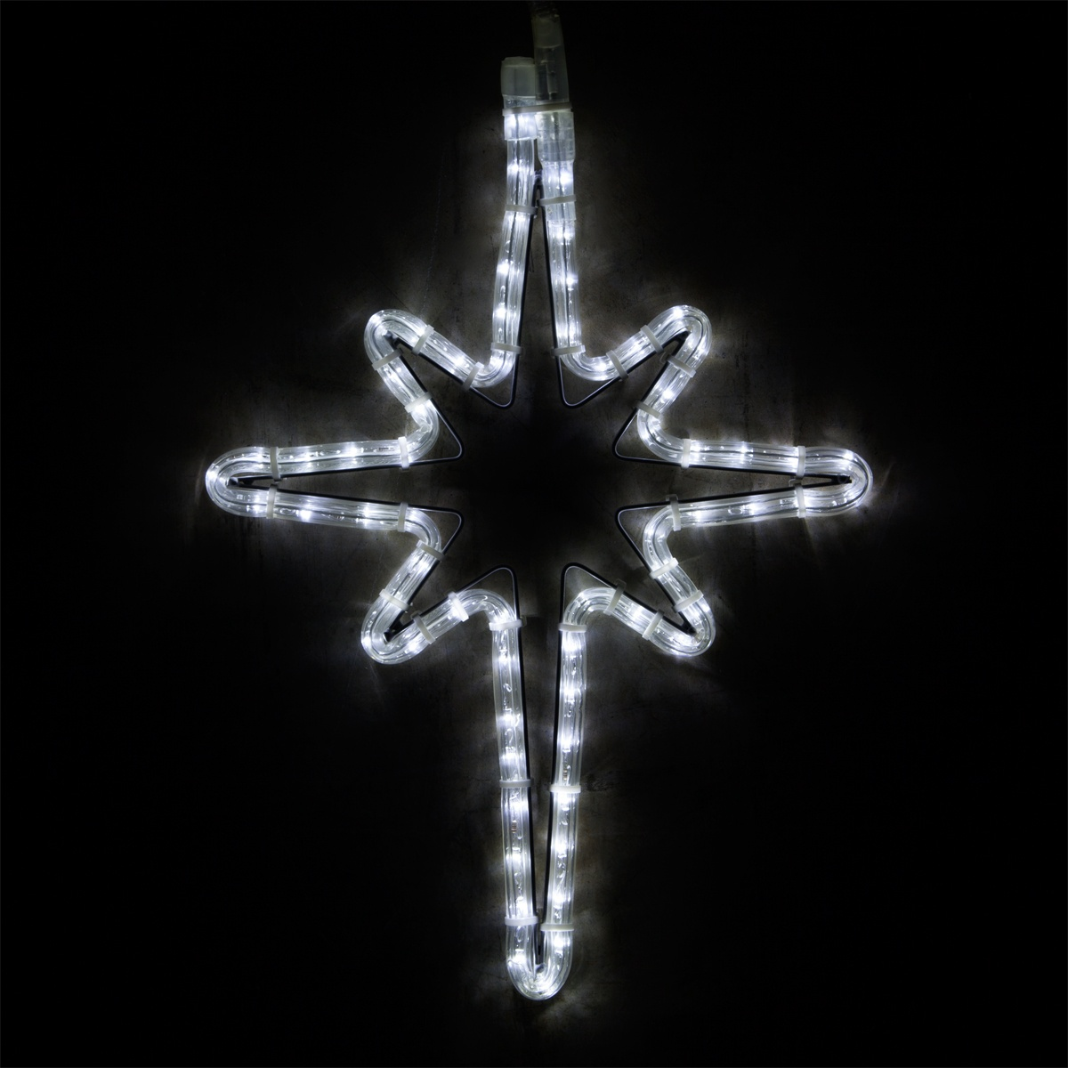 Snowflakes stars 18 led bethlehem star cool white workwithnaturefo