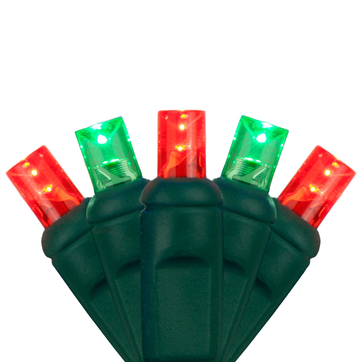Green C9 Led Christmas Lights