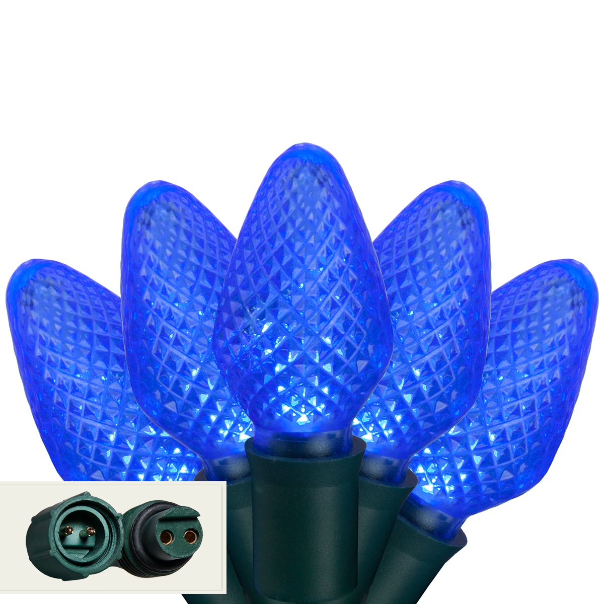 Led Christmas Lights Commercial 25 C7 Blue Led Christmas