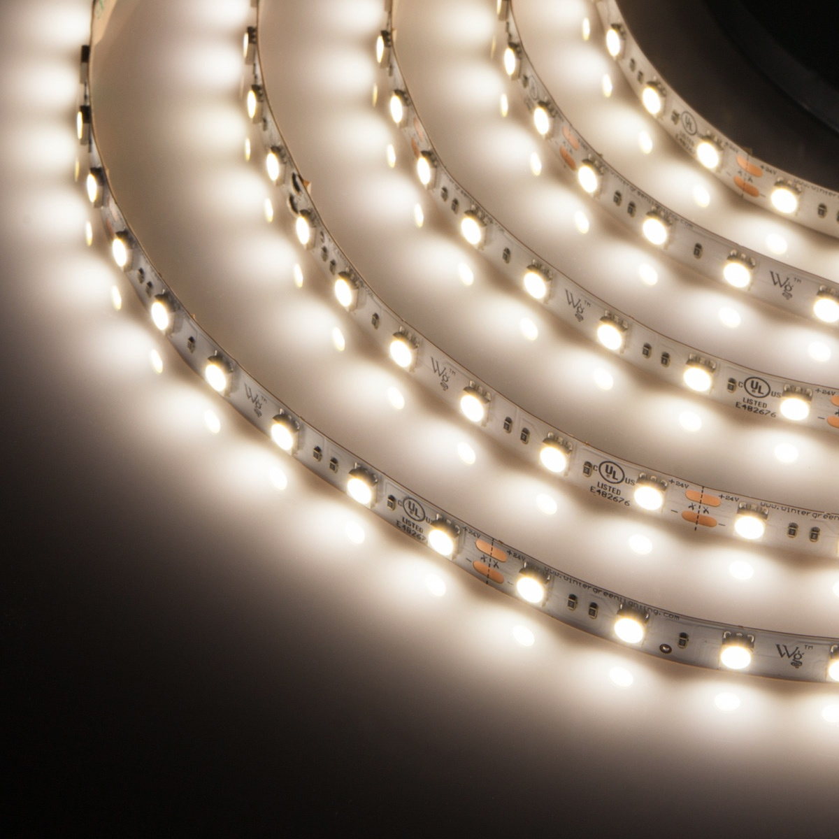 pure white 24v led strip light. Black Bedroom Furniture Sets. Home Design Ideas